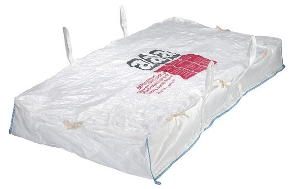 5x big bag asbest big bags plattensack 260x125x30cm ebay. Black Bedroom Furniture Sets. Home Design Ideas