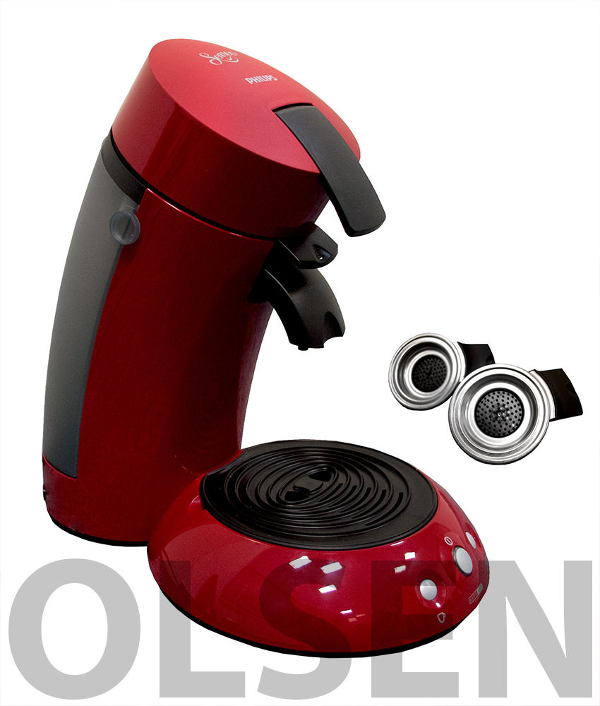 philips senseo hd 781090 rot kaffeemaschine classique. Black Bedroom Furniture Sets. Home Design Ideas